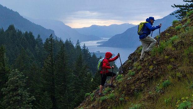 Помощь палок для горных походов