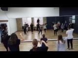 Choreography by Sasha Putilov (N'sync It's tearing up my heart) gr 1.3