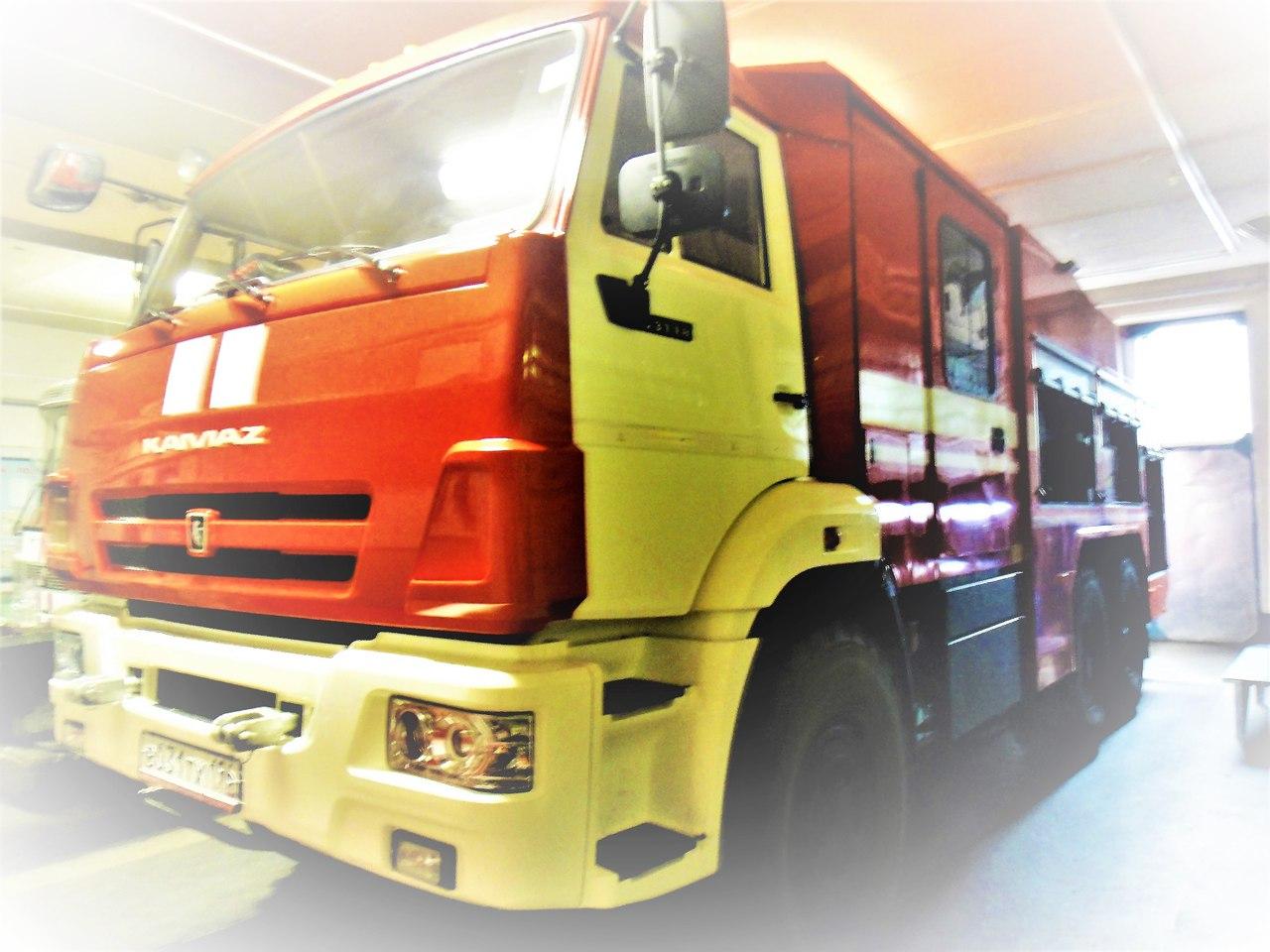 новодвинск пгсс фото пожарная машина