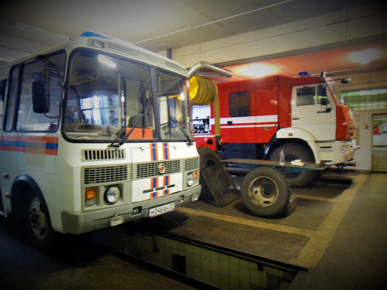 новодвинск пгсс фото пожарные машины