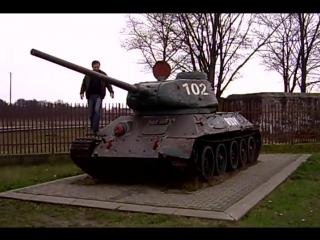 T-34 Rudy 102. Т-34 Рыжий из фильма ,,4 танкиста и собака,,