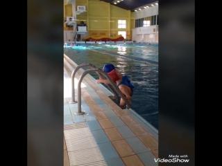 Маленький любитель бассейна #Никитке2года #Лазурный #Кемерово #Кузбасс