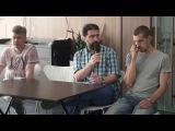 Artist talk #8 Константин Учитель, Максим Фомин, Владимир Кузнецов, Андрей Пронин