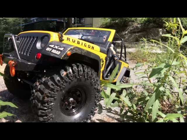 RCModelex Jeep Rubicon JK 2 Door -Off-Road Trail