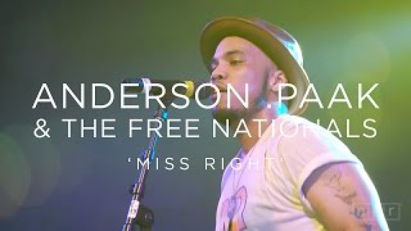 Anderson .Paak The Free Nationals: 'Miss Right' SXSW 2016 | NPR MUSIC FRONT ROW