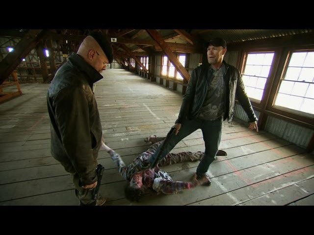 Zombie Combat with Michael Rooker | MythBusters