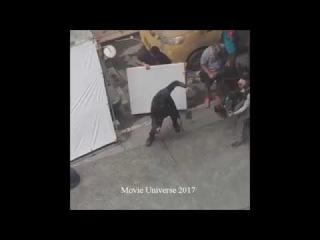 Avengers: Infinity War (2018) Set Video Doctor Strange Scene