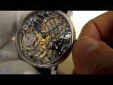 Tourby Watches Art Deco Skeleton High Finish Hand Engraved ETA Unitas 6498
