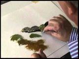 Рисуем акварелью камни и валуны с Terry Harrison