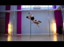 Pole Art Routine 94 - Level 4 (Sia - Big Girls Cry)
