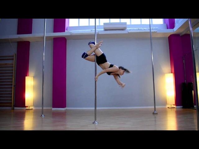 Pole Art Routine 94 - Level 4 (Sia - Big Girls Cry)