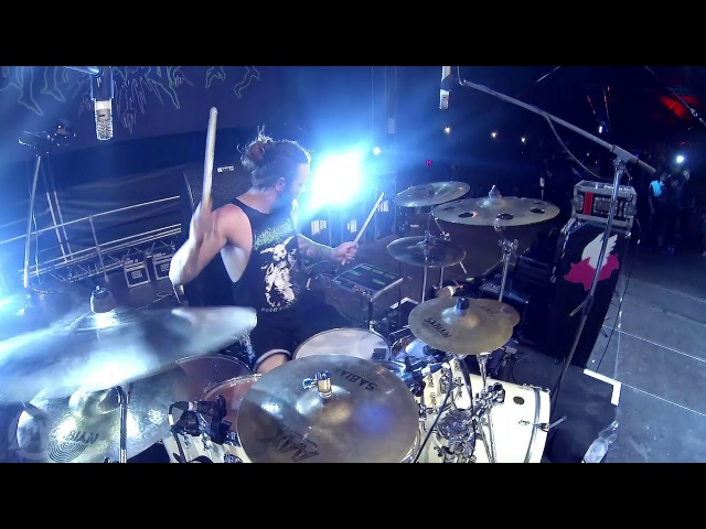Suffocation - Liege Of Inveracity (Eric Morotti drum cam, Live in Brutal Assault 2017)