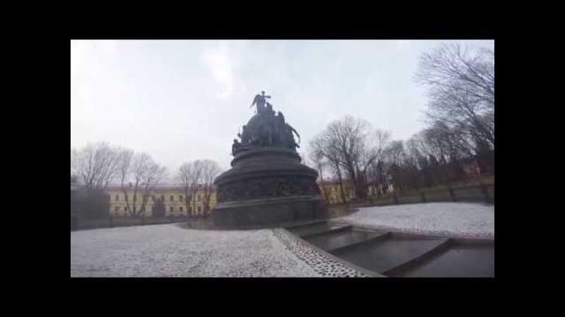 Памятник тысячелетия России и Новгородский Кремль
