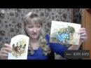 Декупаж Вживление распечатки в брашированную поверхность Татьяна Блохнина
