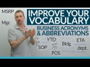 Learn 17 Business Abbreviations Acronyms in English