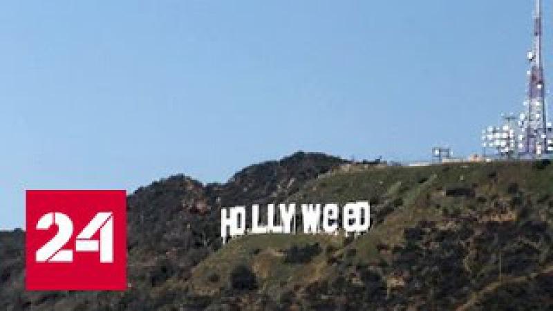 Знаменитая надпись на голливудских холмах превратилась в
