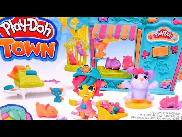 Play Doh Littlest Pet Shop toys