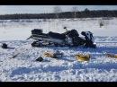 Разбили снегоход BRP tundra