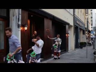 Drunk at Oktoberfest? No problem! Bavarian Leprechauns will carry you safely back home!