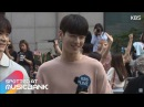 Spotted at Musicbank 뮤직뱅크 출근길 06.16 - ASTRO차은우, NCT, WJSN, KNK, Seventeen, 아스트로, 세븐틴, 청하, 에이프47