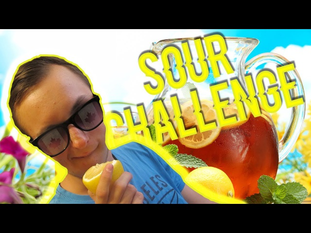 (Sour Candy Challenge!) Лимоный Апельсин