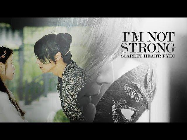 'i'm not strong' ↬ S c a r l e t H e a r t: R y e o