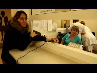 Женщина умирает у 4-ой больницы в Сочи! Шторм ТВ Сочи