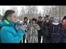 Митинг посвящённый открытию мемориальных досок на Североонежской школе 15 02 17 г