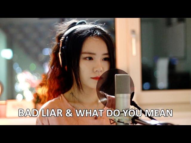 Bad Liar What Do You Mean - Selena Gomez Justin Bieber ( MASHUP cover by J Fla )