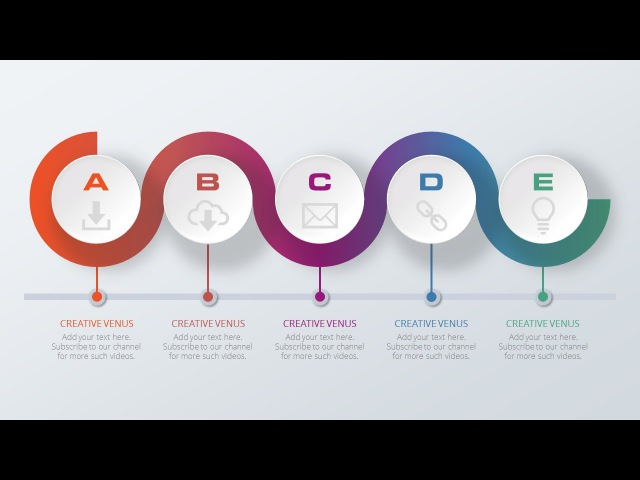 How to Design a Creative Process Slide in Microsoft Office PowerPoint PPT