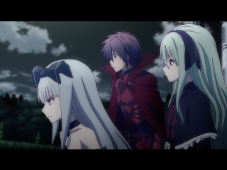 Gekijouban Trinity Seven: Eternity Library & Alchemic Girl (Movie)/ Святая Семёрка (Фильм) BD [Озвучка: Nate & Лизавета (SHIZA)]