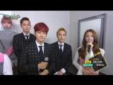 [CUT] 161111 KBS Music Bank @ EXO-CBX - Interview