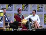 2017   Вопрос-ответ панель команды фильма «Лига справедливости: Часть 1» в рамках фестиваля «Comic-Con» в Сан-Диего (22 июля)  