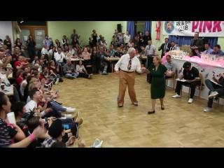 Ветераны танцевального конкурса