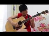 12 - Летний Самоучка из Китая очень круто играет AC DC