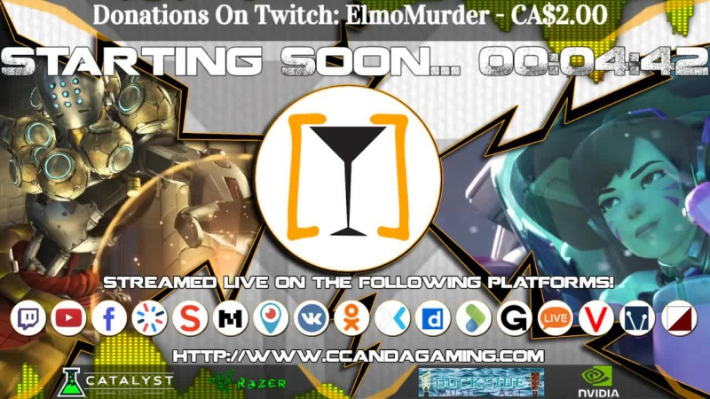 CCAA Gaming [Torradas] || Zenyatta Comp SR 2159 - Team Games! (Gawd I Hope)