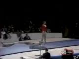 Советская гимнастка Людмила Турищева