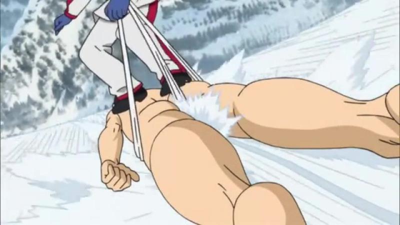 Момент из 36 серии аниме Гинтама 2 сезон / Gintama