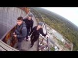 Былые Времена! Питер, Объект ГРАДИРНЯ - 83 метра, 28 этажей, 3,5 секунды полета - свободного падения. Полет моими глазами