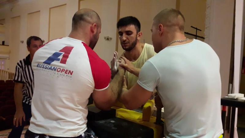 Хаспеков Георгий Кесов Эдгар 2 встреча Абсолютка ЖЛ Кубани 2017