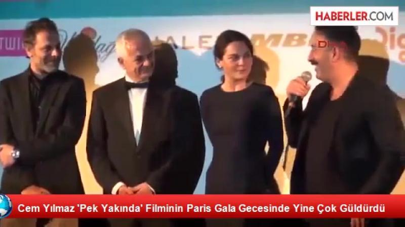 29_11_2014 Cem Yılmaz Pek Yakında Filminin Paris Gala Gecesinde