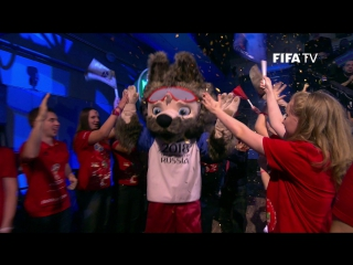 Волк Забивака  – официальный талисман Чемпионата мира по футболу FIFA 2018™