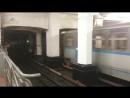 Поезд уходит с Александровского сада на Площадь Революции