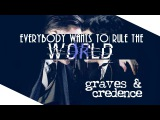 "graves & credence | gradence | ""everybody wants to rule the world"" [fantastic beasts and wtft]"