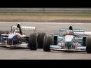 Шумахер побеждает с 16 го места Бельгия 1995