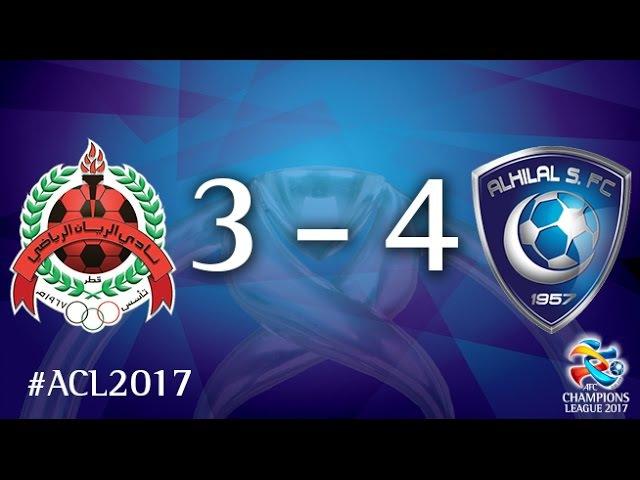 Al Rayyan vs Al Hilal (AFC Champions League 2017: Group Stage – MD6)