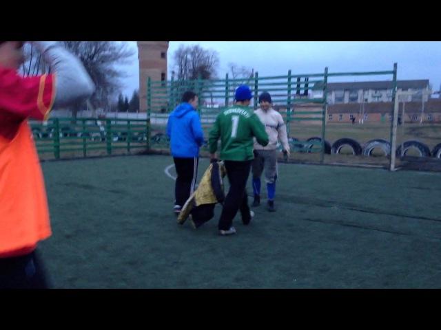 Кінцівка матчу Колос Скіф фінал