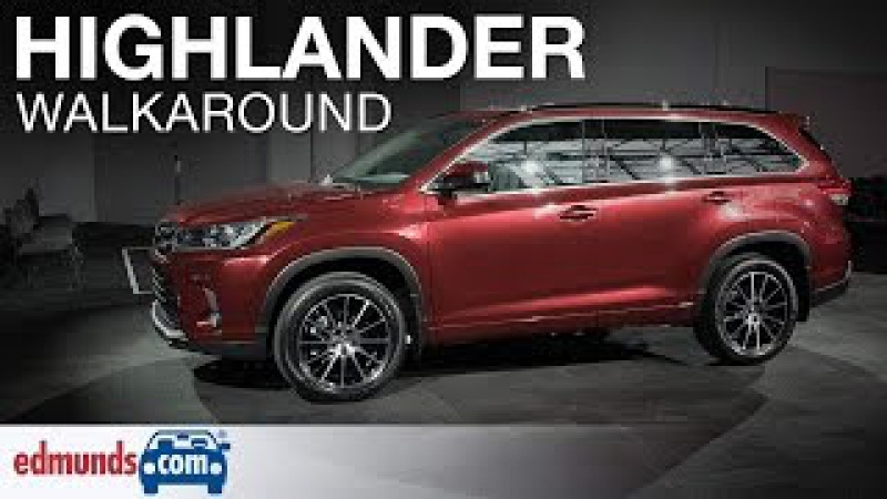 2017 Toyota Highlander Walkaround