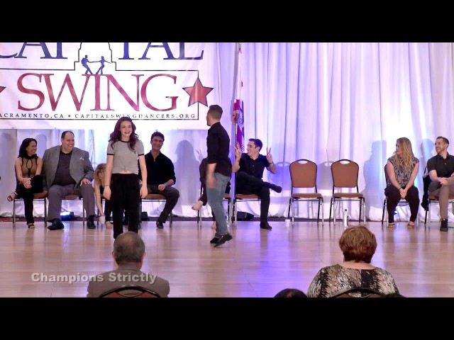 Benji Schwimmer Alyssa Glanville - Capital Swing 2017 Champions Strictly 2nd Place