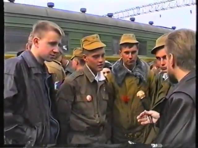 Встреча 81 МСП на ст. Красный кряжок. Из Чечни 1995 г.